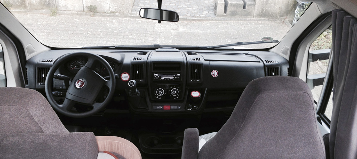 A68 Front Interior